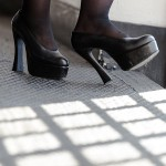 Heels in prison