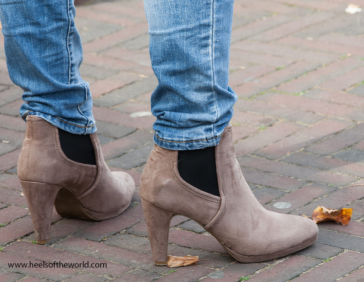 Dutch heels at streetfestival